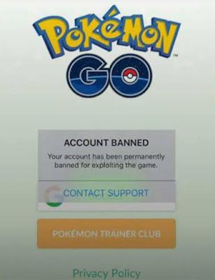 Waspada Banned!! Untuk Pengguna Fake GPS di Pokemon Go