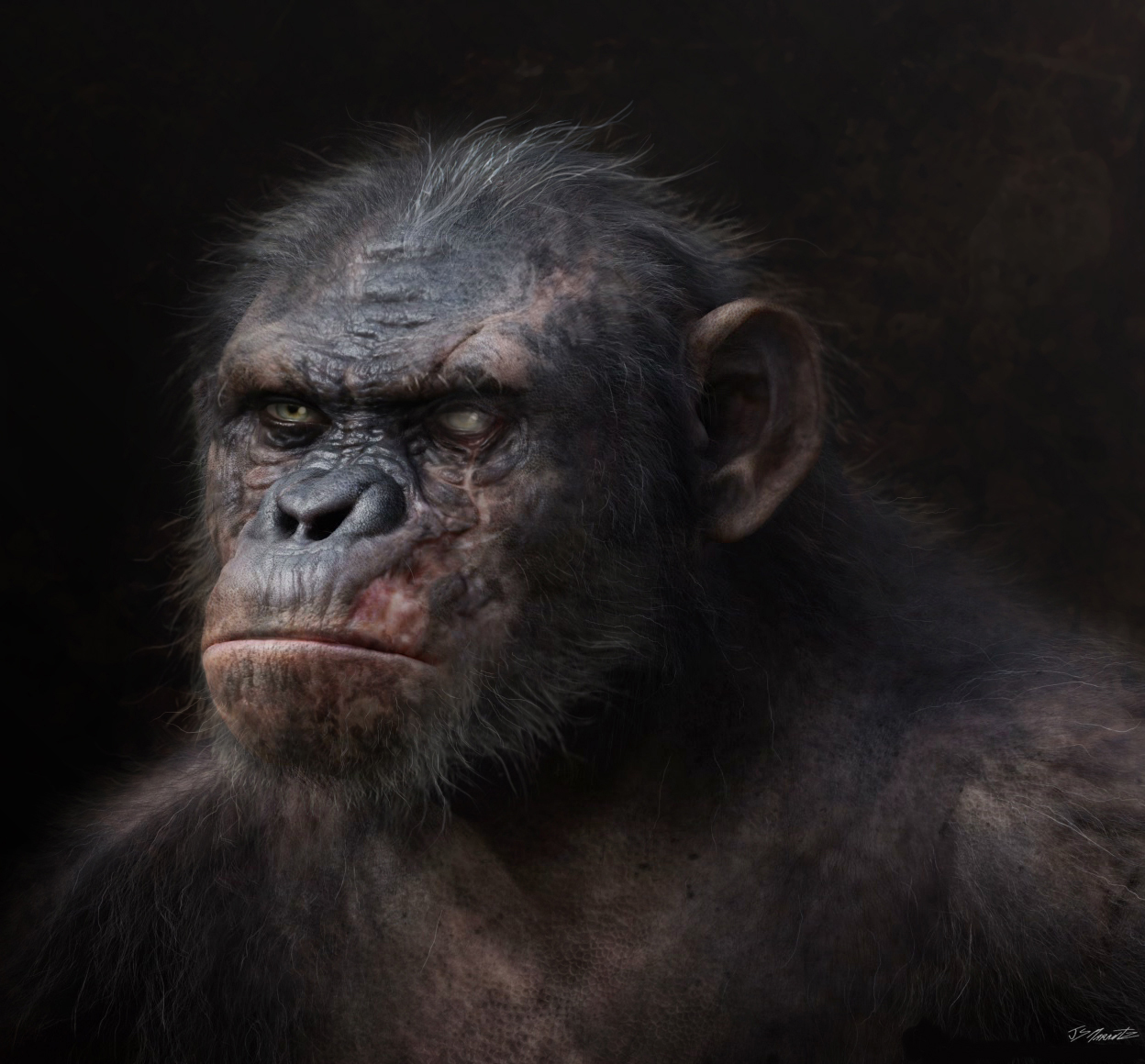 Dawn of the Planet of the Apes Designs