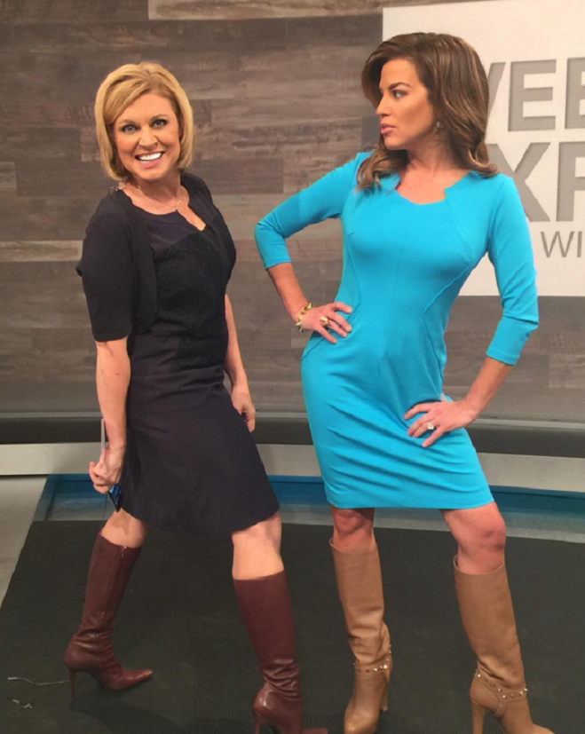 THE APPRECIATION OF BOOTED NEWS WOMEN BLOG : JEN WESTHOVEN AND ROBIN