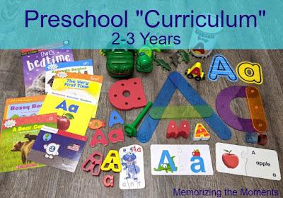 Homeschool Preschool Curriculum Alphabet Themed