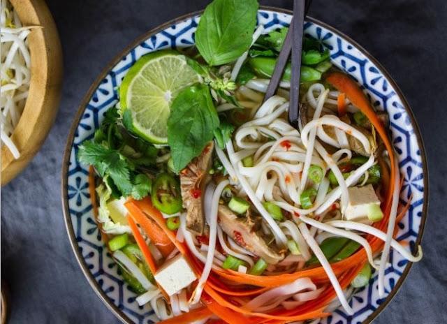 Vegan Pho #vegetarian #dinner