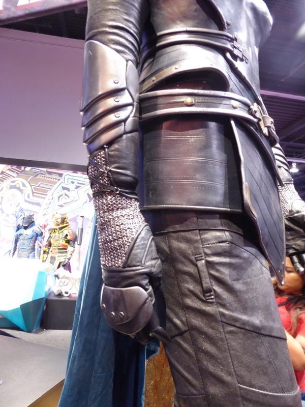 Valkyrie Thor Ragnarok chainmail costume detail