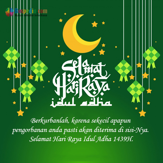 Contoh Gambar Ucapan Selamat Hari Raya Idul Fitri 2019 ...