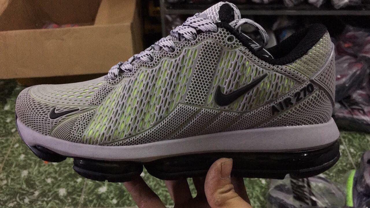 Giày Nike Nam Air Max 270 Xám Size 40