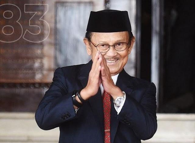 Jihar News, Indonesia Berduka, BJ Habibi Meninggal Dunia