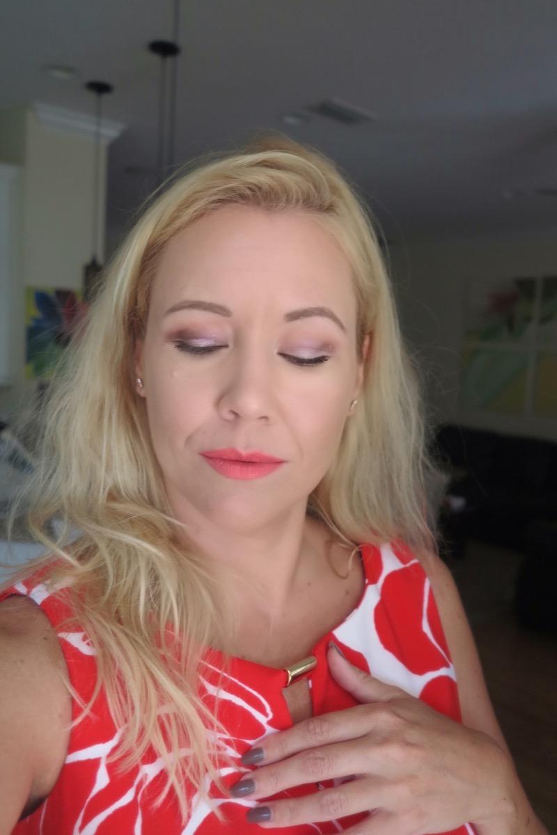 Purple Amp Orange Eyeshadow Makeup Look