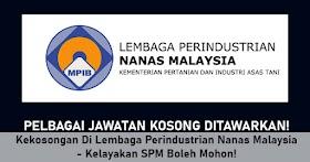 Pelbagai Kekosongan Jawatan Di Lembaga Perindustrian Nanas Malaysia -Mohon Sini!