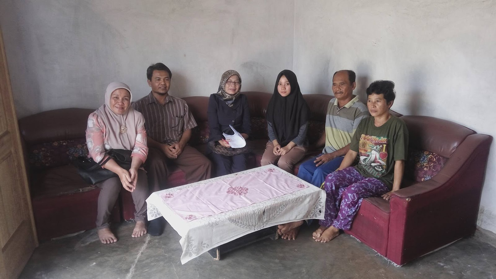Bidikmisi: Kunjungan Ke Rumah Calon Mahasiswa Bidikmisi TA. 2017/2018