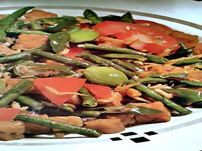 Gambar Resep Sayur Kacang Panjang Pedas