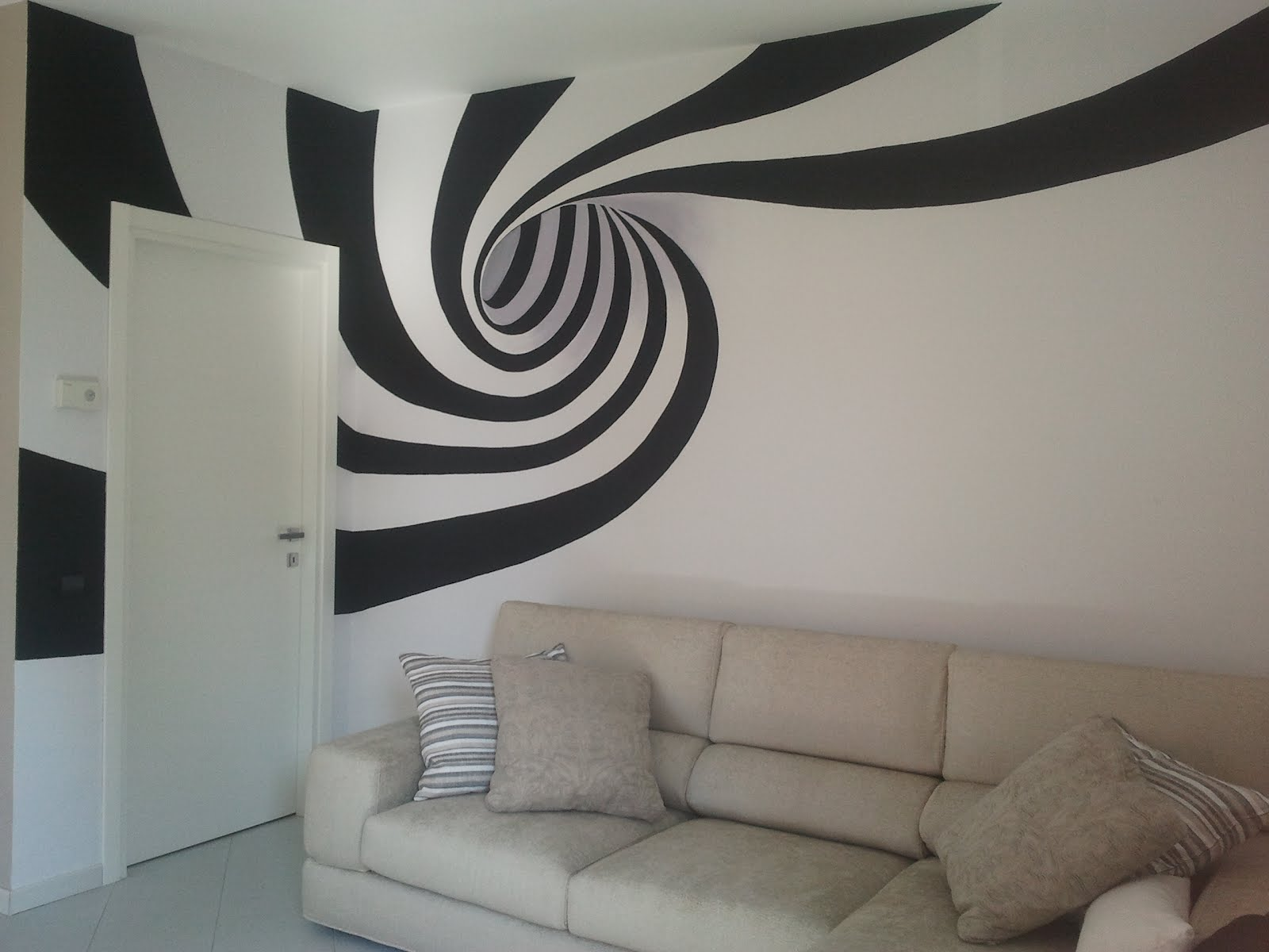 Decorarte murales con spirale for Disegni su pareti