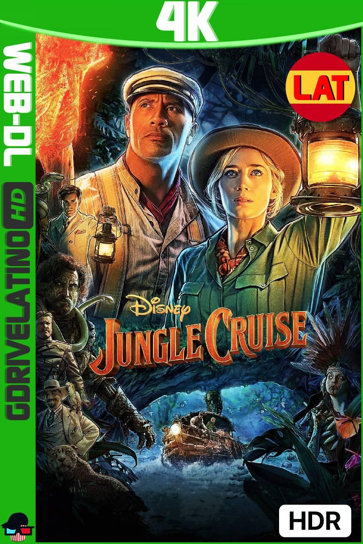 Jungle Cruise (2021) DSNP WEB-DL 4K HDR Latino-Ingles MKV