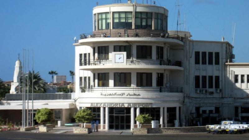 مطار النزهة الإسكندرية الدولي El Nouzha Airport