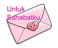 Surat pribadi untuk teman atau sahabat