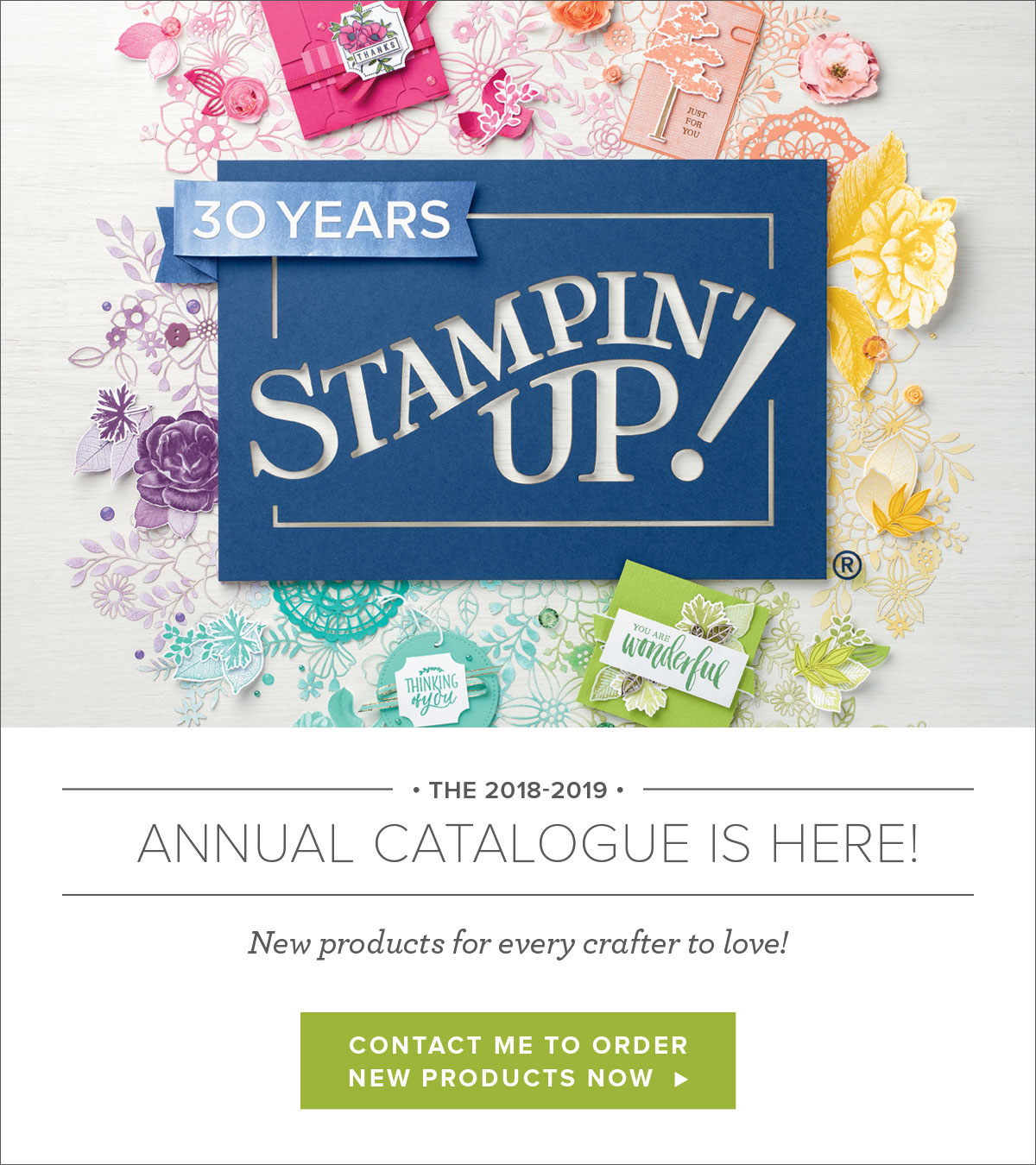 Stampin' Up! 2018/2019 Annual Catalogue