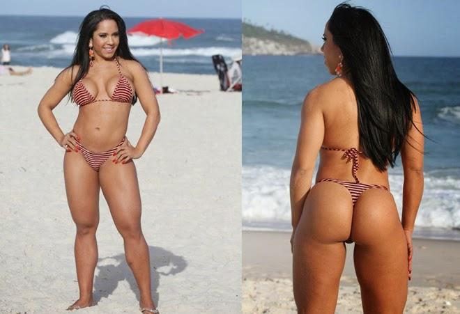 As gostosas donas dos maiores bumbuns do Brasil