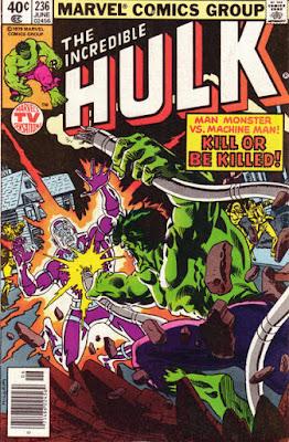 Incredible Hulk #236, Machine Man