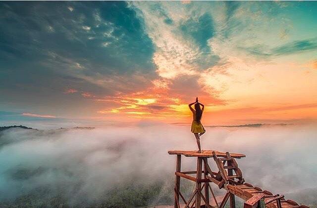 Puncak Bukit Panguk, Kediwung, Dlingo, Bantul