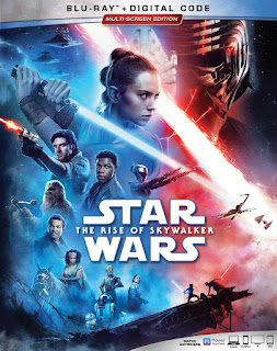 STAR WARS: THE RISE OF SKYWALKER Blu-ray box art