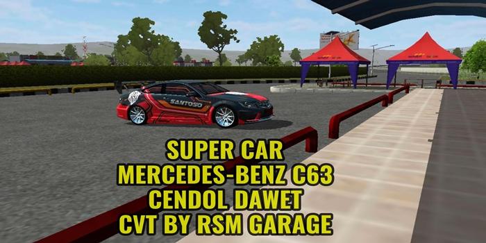 mod mobil mercedes benz supercar cendol dawet rsm garage