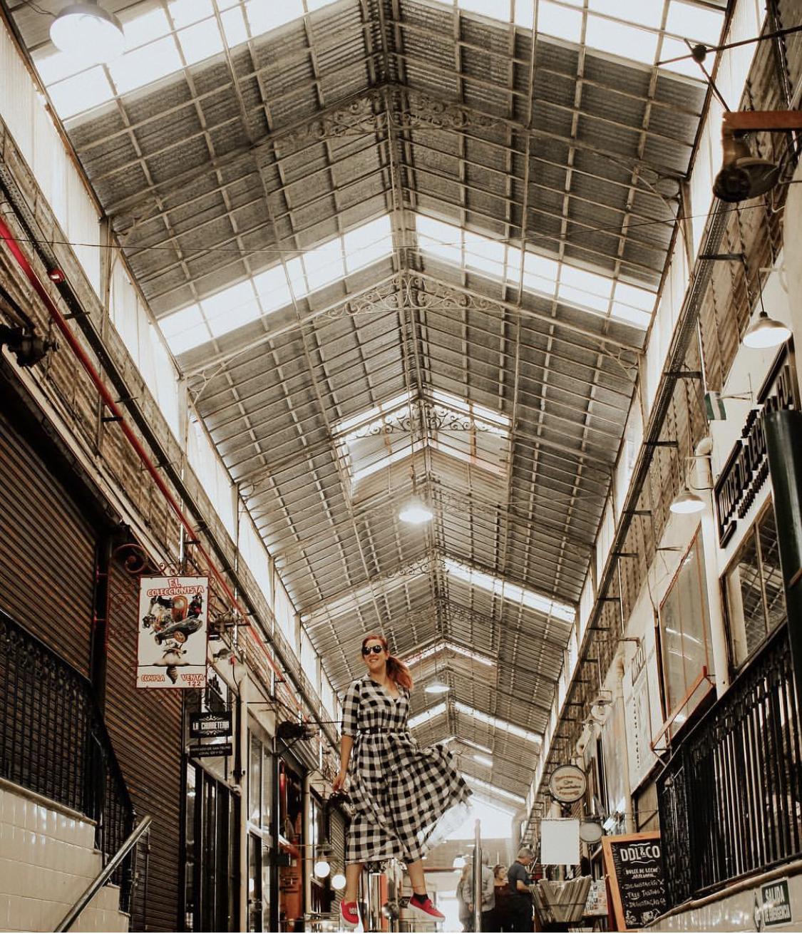 mercado de san Telmo Buenos Aires
