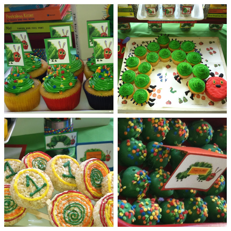 NatalieKMudd: Very Hungry Caterpillar Birthday Party