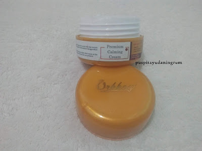 Calming Cream untuk membantu menenangkan kulit wajah, melembabkan & membantu merawat kulit kemerahan