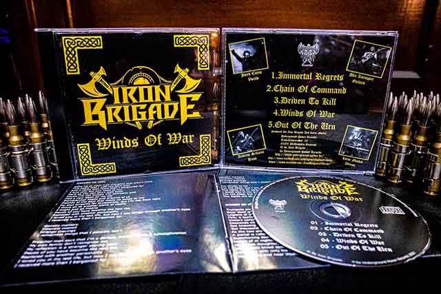 """Ο δίσκος των Iron Brigade """"Winds of War"""""""