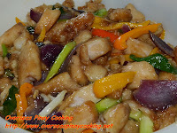 Fish with Black Bean Sauce Stirfry