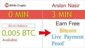 White Crypto New Free BTC Earning Site 2020 - Just Write Post 0.0053 BTC Live Payment Proof / Hindi