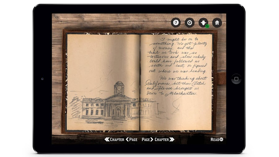 red dead redemption 2 arthur morgan journal mobile app