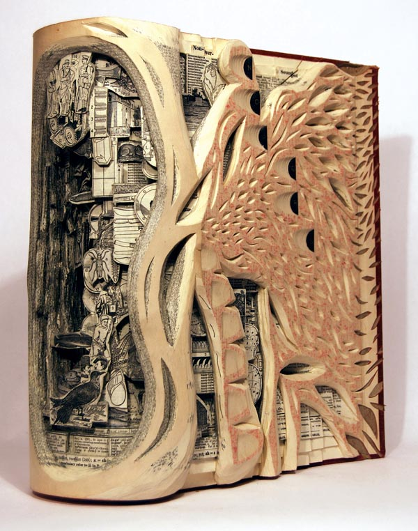 The Paper Cuts By Su Blackwell Are Just As Intricate She Out Images From Old Books To Create Three Dimensional Dioramas Her Work Says