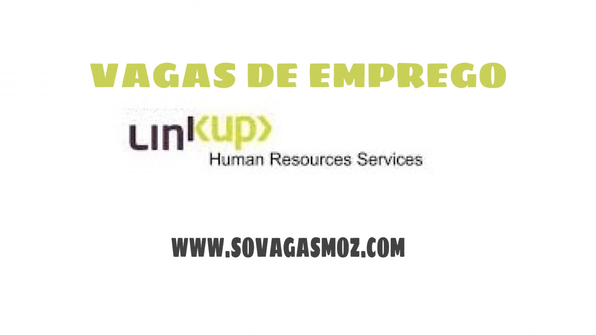 Sovagasmoz - Linkup Recruitment Services - agência privada de emprego, Lda