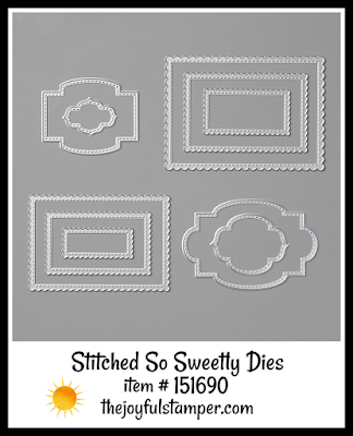 Stampin' Up! Stitched So Sweetly Dies | Nicole Steele The Joyful Stamper
