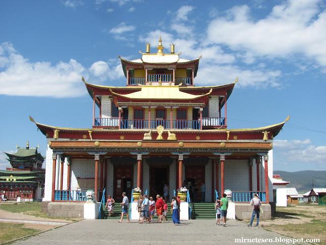 Иволгинский дацан - центральный храм