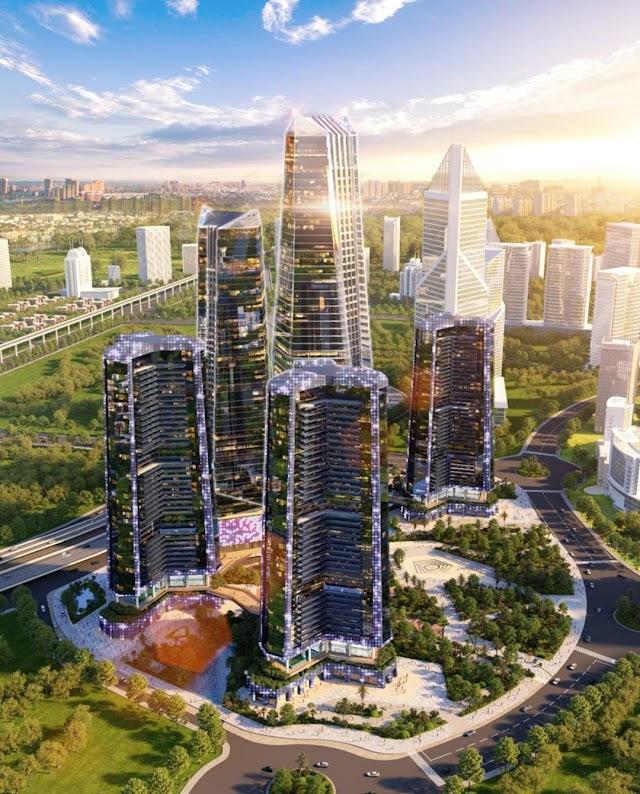 Khám phá công năng của các tòa tháp của dự án Sunshine Ks Finance Empire Ciputra Hà Nội