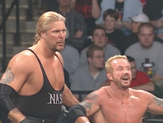 WCW Sin 2001 Review - The Insiders (DDP & Kevin Nash) defended the tag team titles against Sean O' Haire and Chuck Palumbo