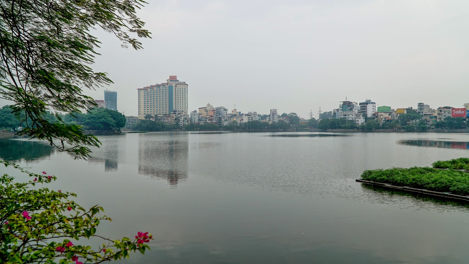 Another view of the West Lake, Hanoi