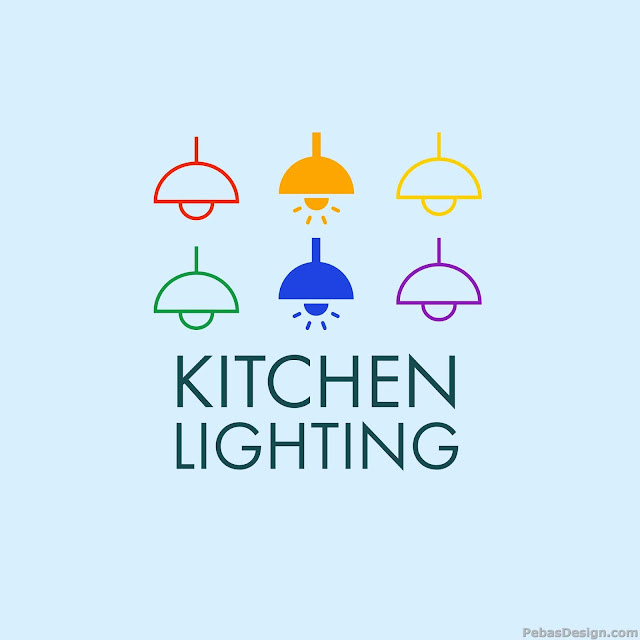 Interior design kitchen lights