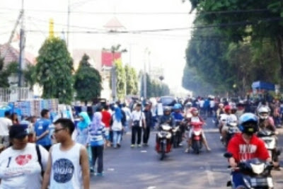 Sunday Market Bentuk Perhatian Pemerintah Kota Madiun Untuk Para Pelaku UMKM