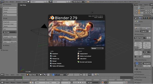 Blender 3D 2.79