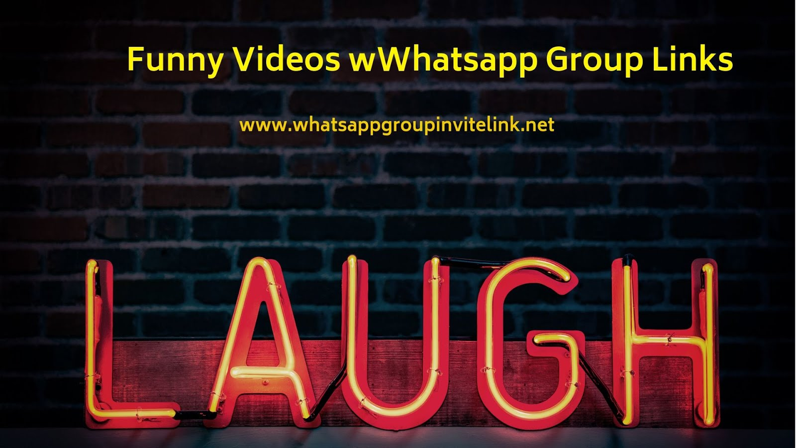 Whatsapp Group Invite Links: Funny Videos Whatsapp Group Links