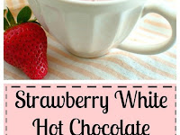 STRAWBERRY WHITE HOT CHOCOLATE (DAIRY FREE)