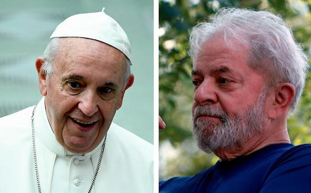 """Papa envia carta enigmática para Lula ao dizer que """"a verdade vencerá a mentira"""""""