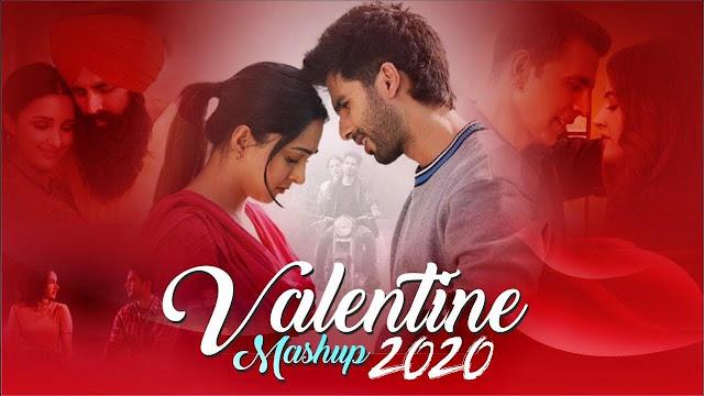 Popular Hindi Valentine Mashup Song|DJ Sourav|वेलेंटाइन स्पेशल लव संग