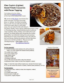 Cleo coyle recipes the recipe pdf and forumfinder Gallery