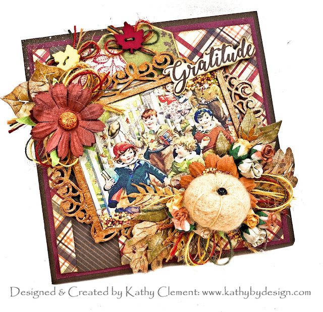 Thanksgiving Photo Folio by Kathy Clement for Really Reasonable Ribbon Photo 01