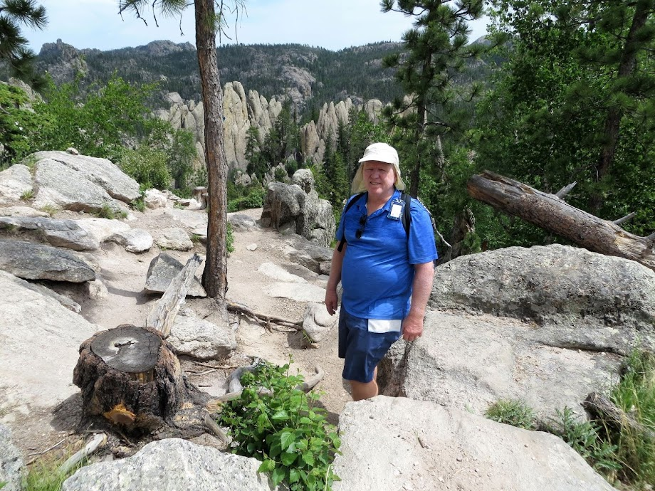 Sunday Gulch Trail, the Black Hills, South Dakota, Tuesday, June 16, 2020