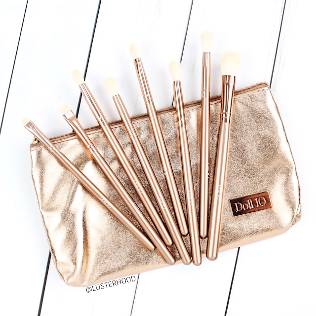 Doll 10 Beauty Makeup Brushes Review  |  Lusterhood