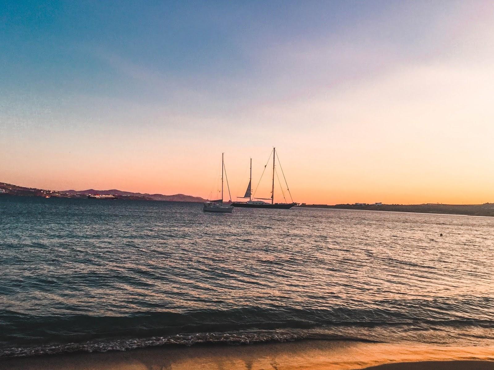 Paros Greece Sunset
