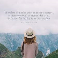 Do Not Be Anxious About Tomorrow - Catholic Daily Reading + Reflection, 19 June 2021